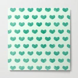 Cute Hearts V Metal Print