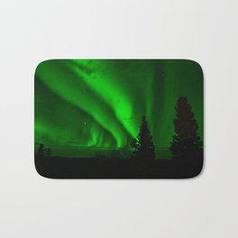 Aurora borealis Bath Mat