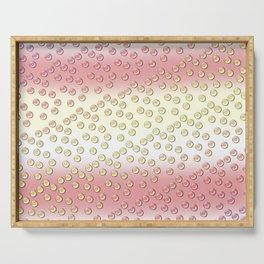 Pastel pattern Serving Tray