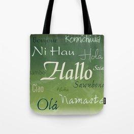 Hallo Tote Bag
