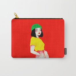 Beanie girl Carry-All Pouch