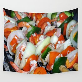 Shrimps Wall Tapestry