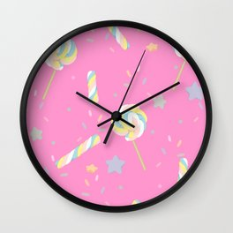 Clumps For Your Lumps Wall Clock