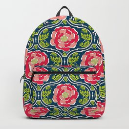 Yogita : India Floral Backpack