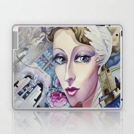 Lady Europe Laptop & iPad Skin