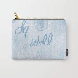 Oh Blue Carry-All Pouch