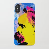 nietzsche iPhone & iPod Cases featuring Friedrich Wilhelm Nietzsche by DIVIDUS