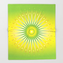 photosynthesis Throw Blanket