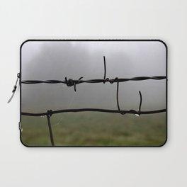 Fog and Fence Laptop Sleeve