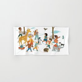 March with friends Hand & Bath Towel