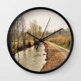 lonley path Wall Clock