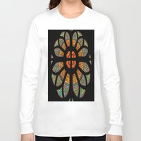 stained glass Long Sleeve T-shirts featuring stained glass by Joshua Arlington