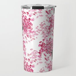 Cherry Tree Pattern Travel Mug