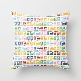 Camp Color Throw Pillow