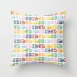 Camp Color Throw Pillow