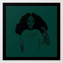 Everybody Black Art Print