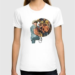 And on that farm there was a.. T-shirt