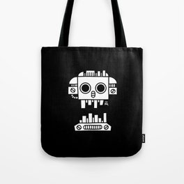 Mechanical Jolly Roger - PM Tote Bag