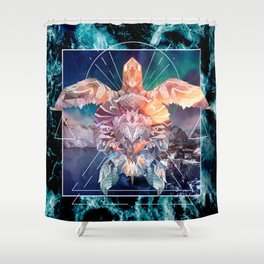 Spirit of the Ocean Shower Curtain