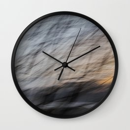 Creases Wall Clock