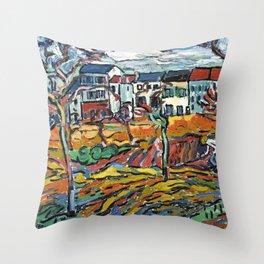 Vlaminck Throw Pillow