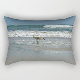 Swimming with the Birds  Rectangular Pillow