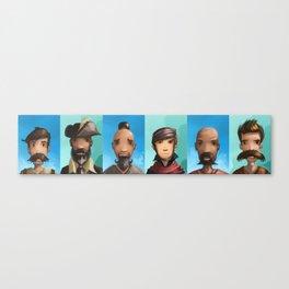 Beards Canvas Print