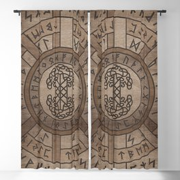 Web of Wyrd The Matrix of Fate and Tree of life Blackout Curtain