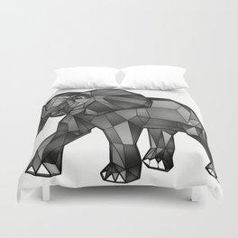Geometric Giant #1: Elephant Duvet Cover