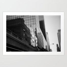 New York City 1982 BW Series - #4 Art Print
