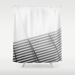 Untitled (Lines) Shower Curtain