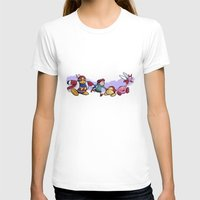 kirby T-shirts featuring Kirby Friends by Sara Goetter