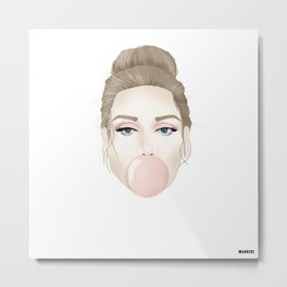 Covergirl bubblegum Metal Print
