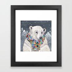 Penwyn Polar Bear Framed Art Print