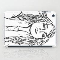 britney spears iPad Cases featuring Britney Spears In Lines by JennFolds5 * Jennifer Delamar-Goss