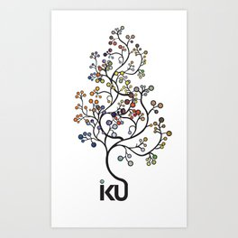 iku Tree Art Print