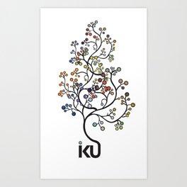 iku Tree Art Print
