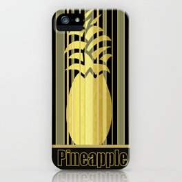 Pineapple Glam iPhone Case