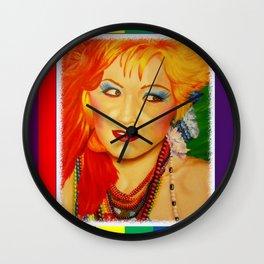Cyndi Wall Clock