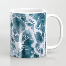 Minimalistic Veins in a Wave  - Seascape Photography Coffee Mug