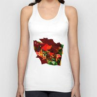 polygon Tank Tops featuring polygon chaos by Matthias Hennig