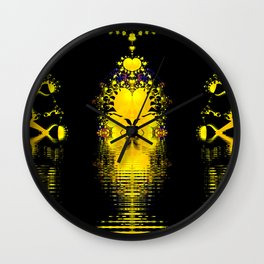 On the Plains of Gouda Wall Clock