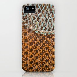texture - connections iPhone Case