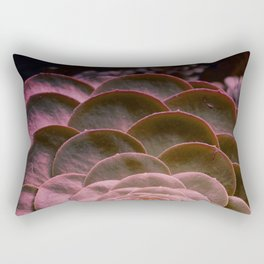 DARKSIDE OF SUCCULENTS VI Rectangular Pillow