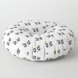 Panda King [Pattern] Floor Pillow