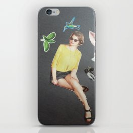 Sitting Pretty 1 iPhone Skin