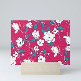 Southern Charm Pink - Magnolias Mini Art Print