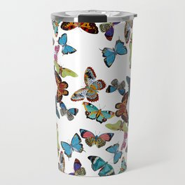 Butterfly Invasion Travel Mug