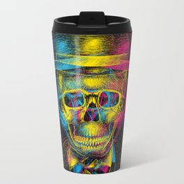 Worked to Death Metal Travel Mug