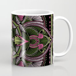 Colorful geometric illustration Coffee Mug